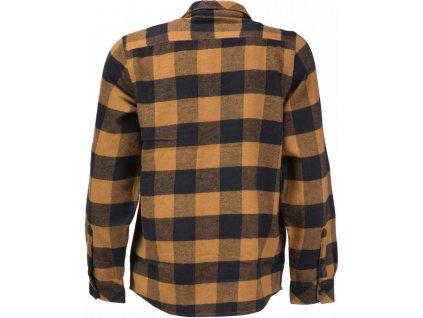 Košile Sacramento, Flannel Hnědá