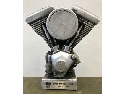 Keramický model motoru Harley Davidson Evolution