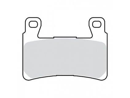 TRW Přední brzdové destičky 15-20 Softail; 08-12 XR1200