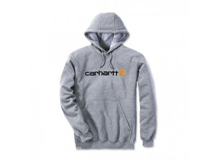 CARHARTT MIKINA - LOGO / GREY