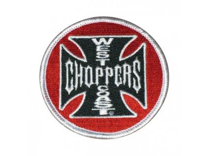 Stylová nášivka West Coast Choppers TW Ryder