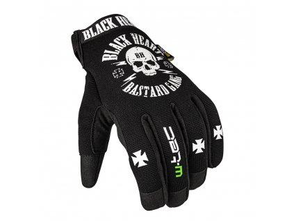 Moto rukavice W-TEC Black Heart Radegester (Barva Černá, Velikost L)