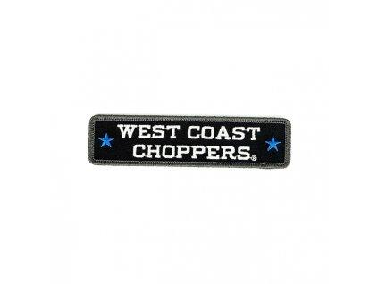 Stylová nášivka West Coast Choppers Name Patch k dozdobení vaší motorkářské vesty či bundy.  TW Ryder