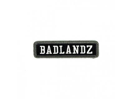Stylová nášivka West Coast Choppers Badlandz Patch k dozdobení vaší motorkářské vesty či bundy. TW Ryder