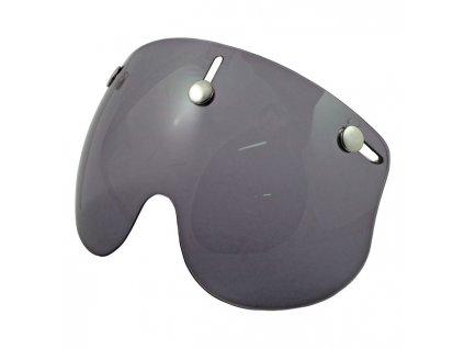 Zatmavený krátký štít pro Bandit Jet přilby, vyrobeno z Polykarbonátu. TW Ryder