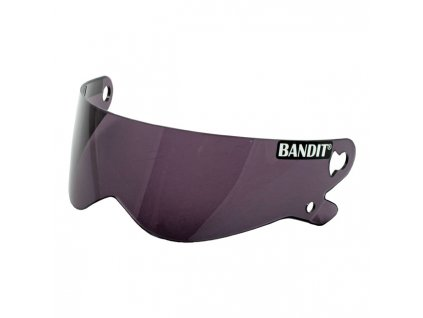 Kouřový výměnný plexi štít pro Bandit XXR, Crystal a Superstreet II přilby, vyrobeno z Polykarbonátu. TW Ryder