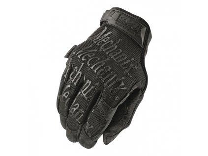 Motorkářské odolné rukavice určené pro těžkou práci MECHANIX THE ORIGINAL BLACK COVERT v černé barvě. TW Ryder