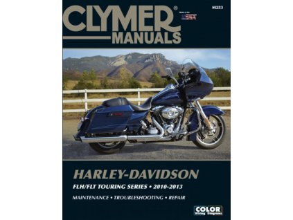 Clymer manuál pro FLH/FLT Touring 2010-2013 modely. TW RYder