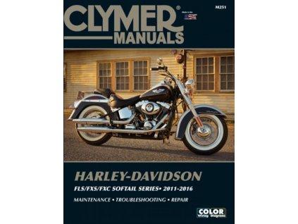 Clymer manuál pro FLS/FXS/FXC 2011-2016 Softailmodely  TW Ryder