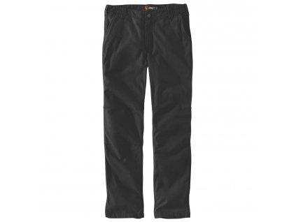 Kalhoty Carhartt Rugged Flex Straith Fit Canvas 5-Pocket Tapered Work Pant (Velikost W30/L30)
