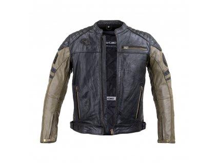 Pánská kožená moto bunda W TEC Kostec (1)