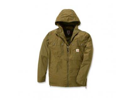 Bunda Carhartt zelená Rockford Jacket (Velikost L)