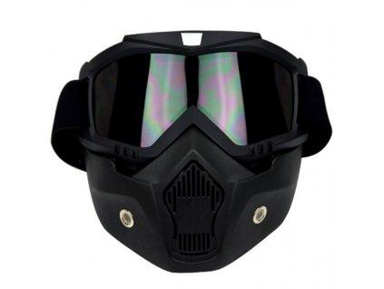 Maska s brýlemi do helmy 092520HTB