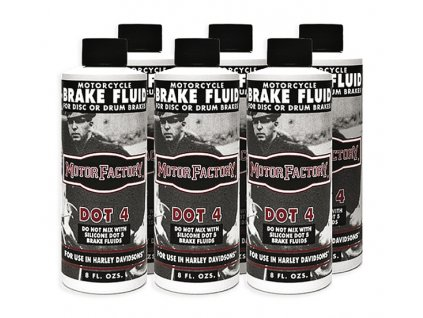 Motor Factory DOT-4 Brake Fluid / Box 6ks / 640090