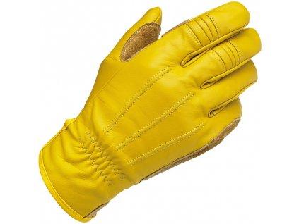 Biltwell Work rukavice Gold