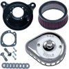 S&S, Mini Teardrop Stealth Kit Vzduchový filtr , Stock Bore Throttle Body, Chrom