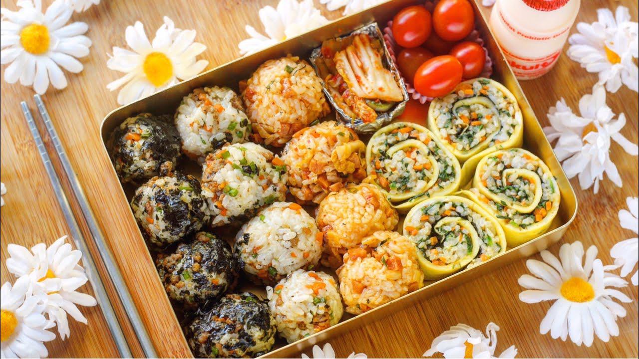 Jumeokbap - Chutné a zdravé korejské rýžové kuličky s mořskou řasou