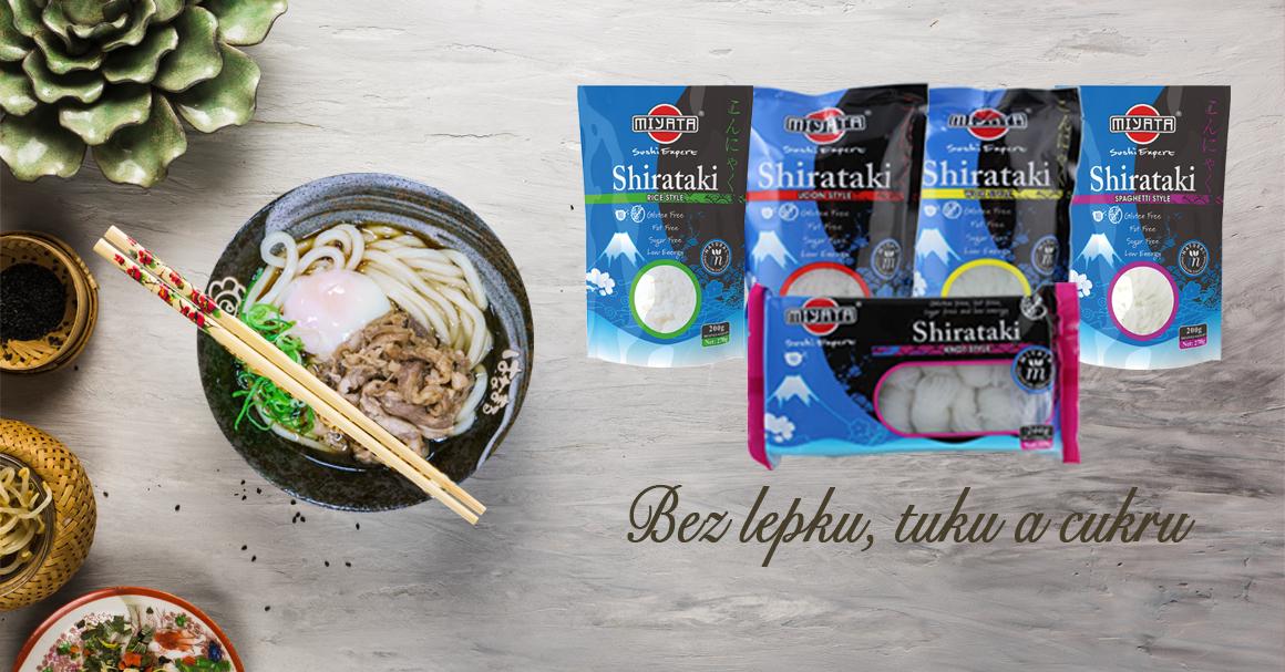 """Objevte """"zázračné"""" nudle Shirataki! Nízkokalorické, s vysokým obsahem vlákniny a bez sacharidů!"""