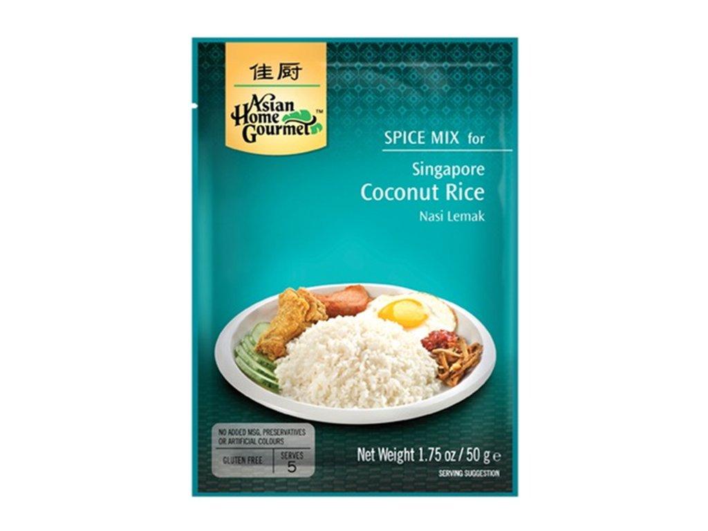 ahg singapurske kokosove ryze 50g