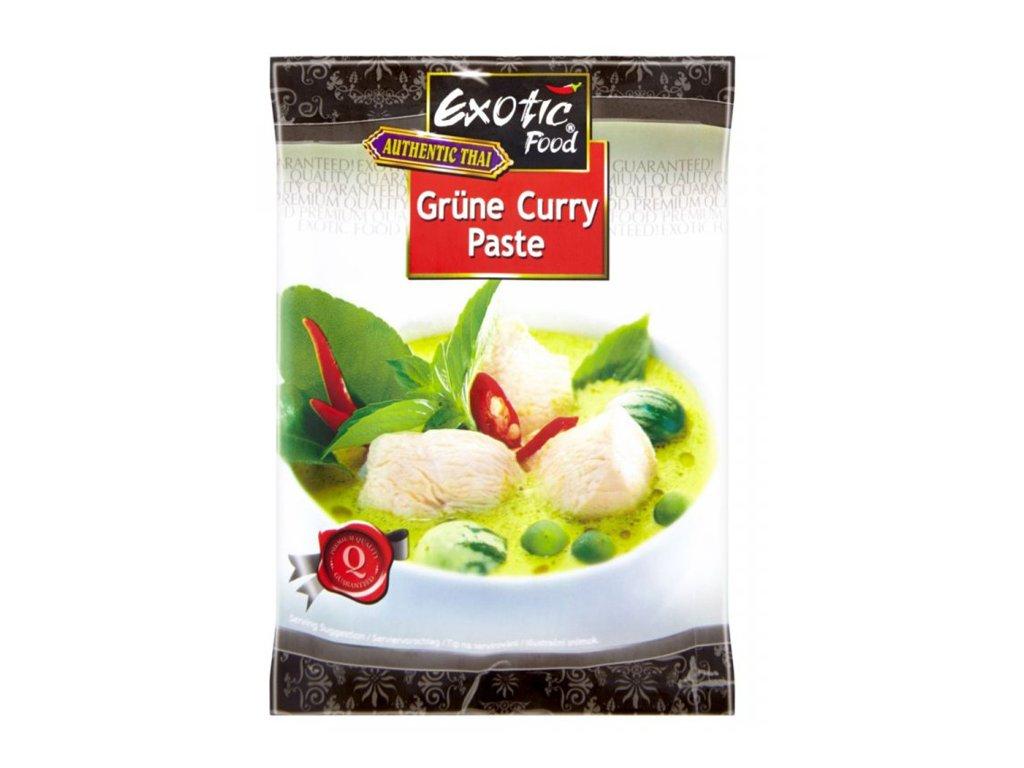 exotic food kari pasta zelena 50g