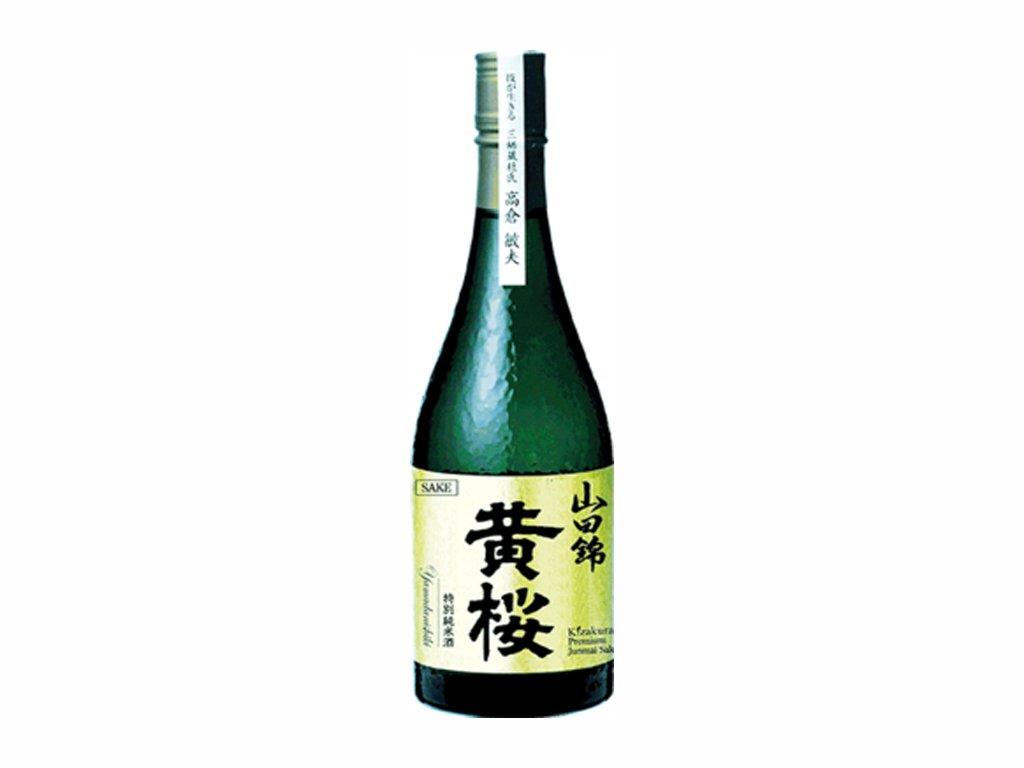 KIZAKURA Sake ryzove vino 15% (Tokubetsu Junmai Yamadanishiki) 720ml