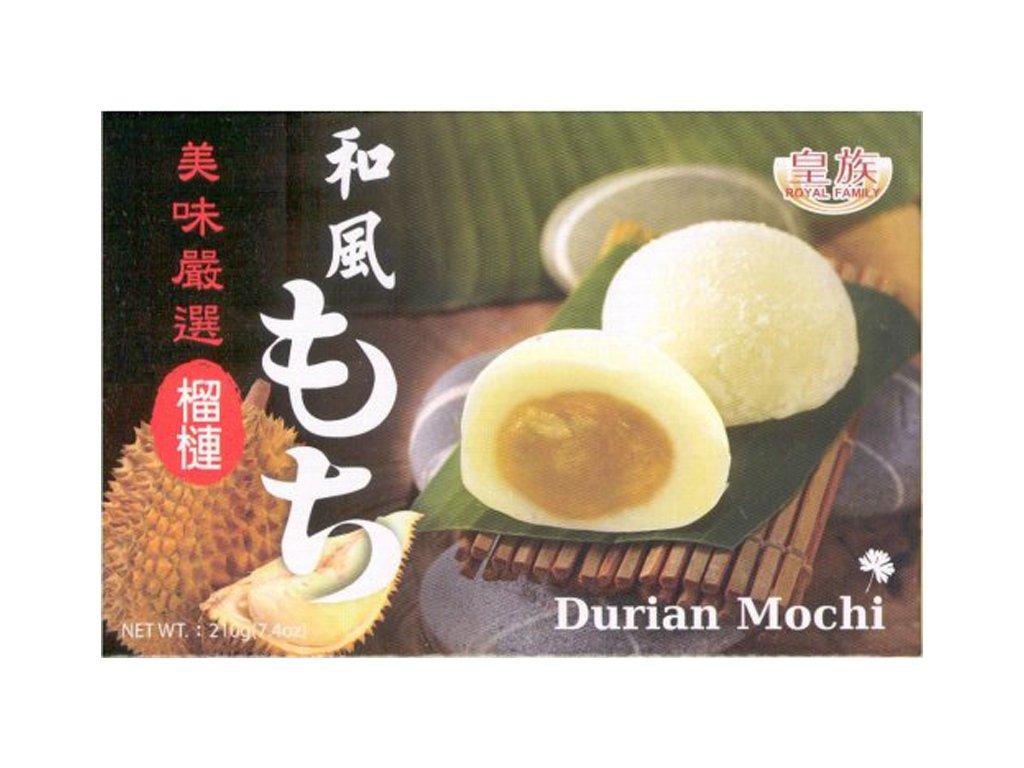 royal family mochi ryzove kolacky s prichuti durian 210g
