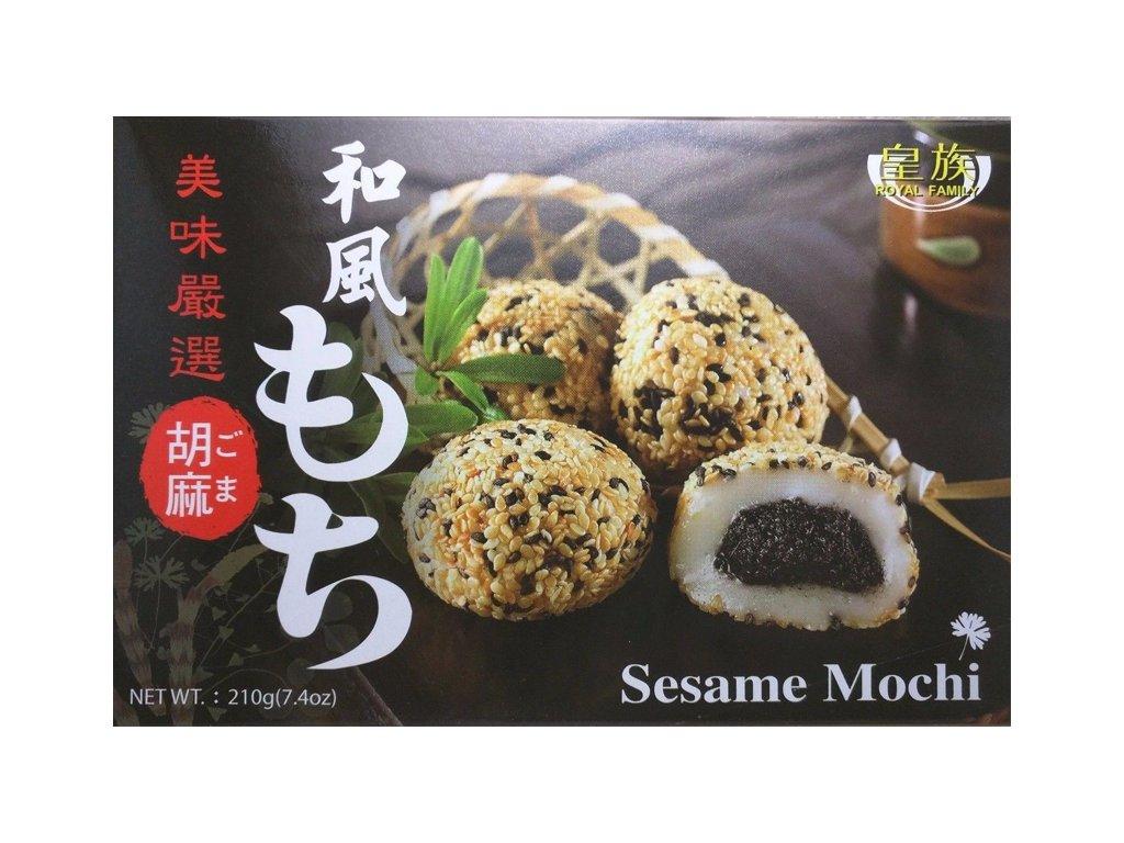 royal family mochi ryzove kolacky s prichuti sezamovou 210g