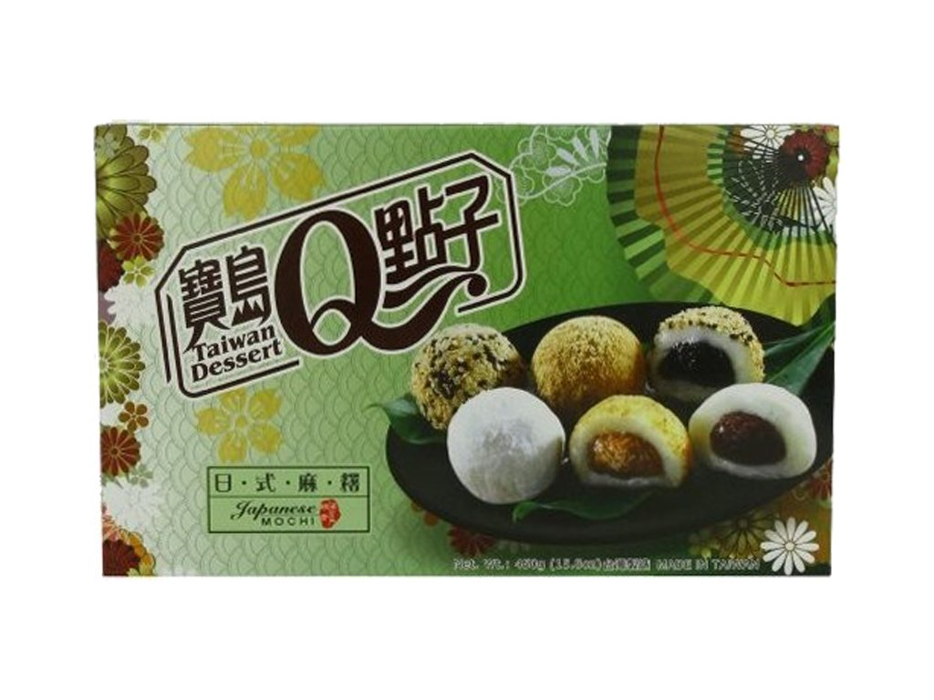 q mochi mix ruzne naplne 450g