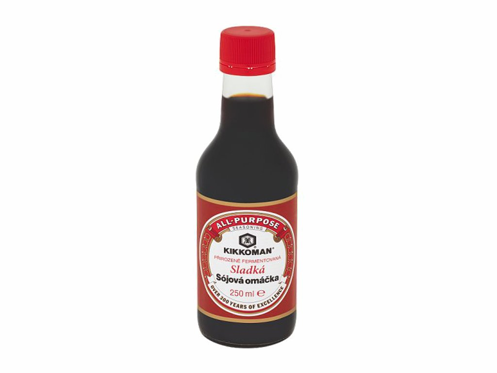 kikkoman prirozene fermentovana sojova omacka sladka 250ml