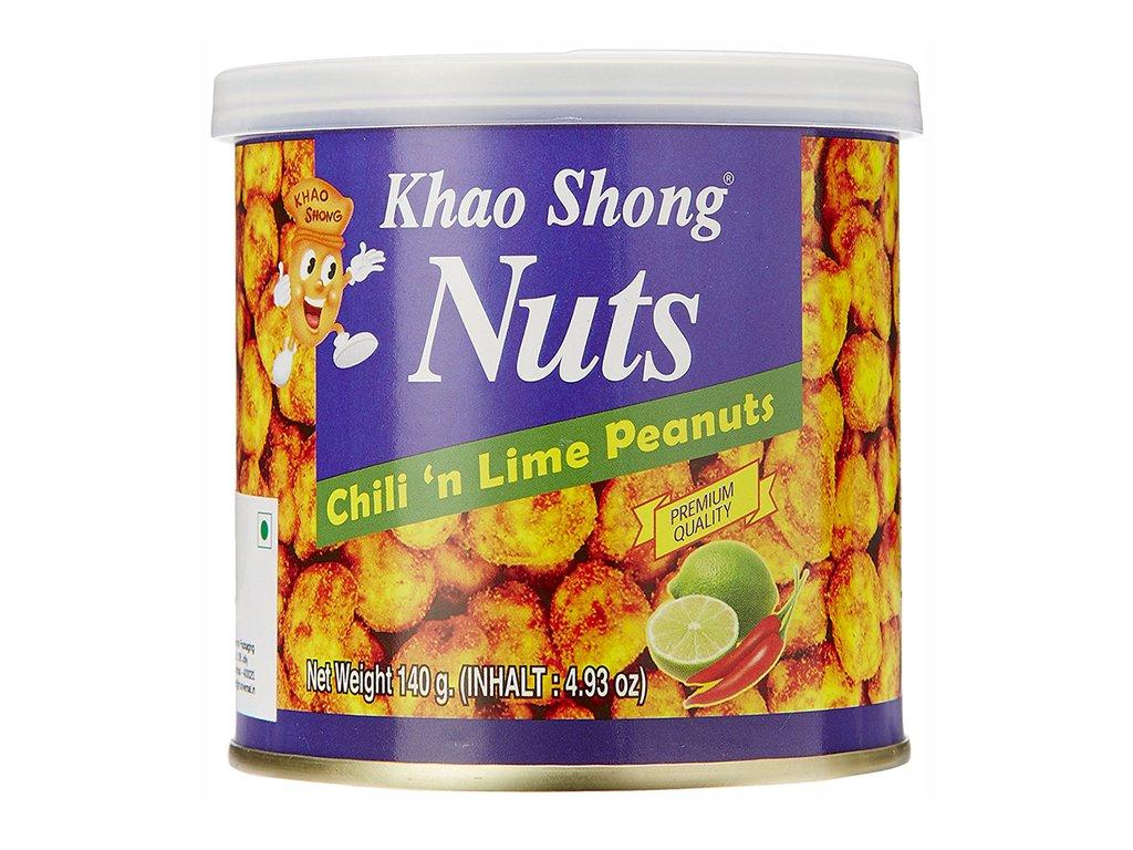 khao shong arasidy s chilli a limetkou 140g
