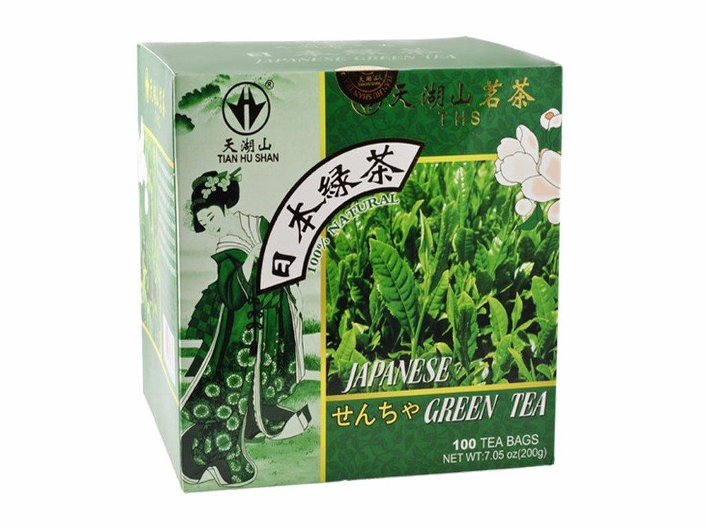 ths zeleny caj japonskeho stylu 200g