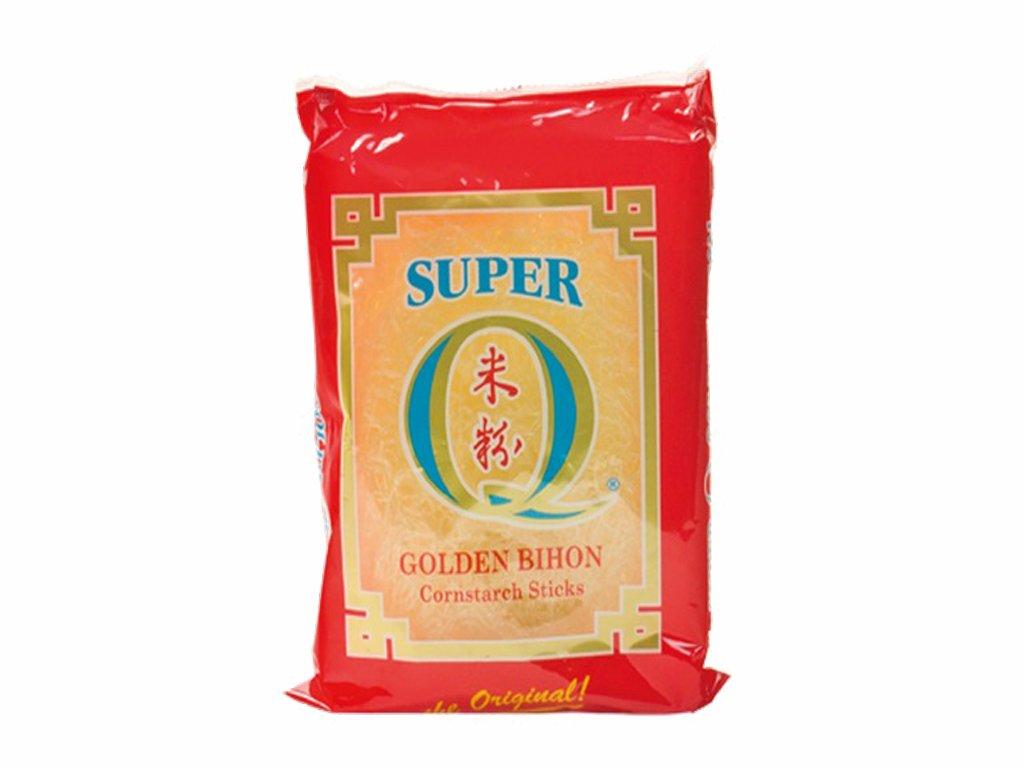 super q brand golden bihon kukuricne nudle 227g