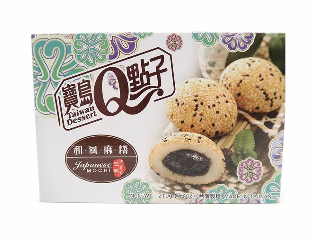 q mochi ryzove kolacky sezamove 210g