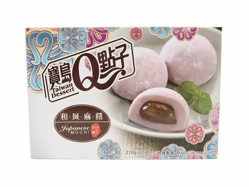 q mochi ryzove kolacky taro 210g