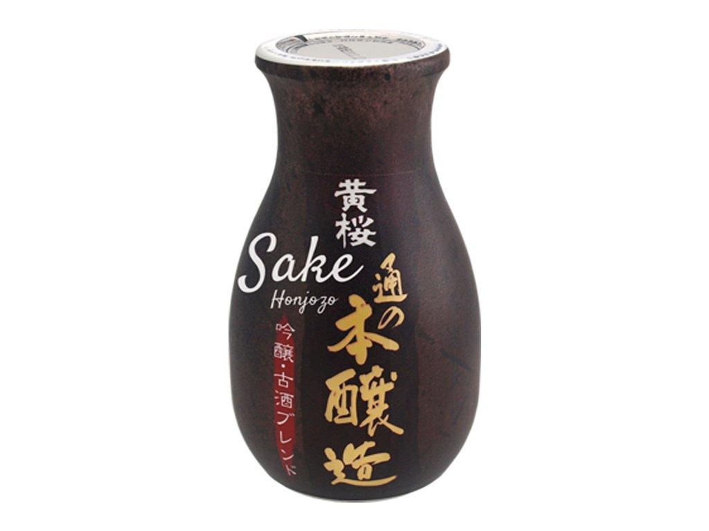 KIZAKURA Sake ryzove vino 15% (Honjozo) 180ml