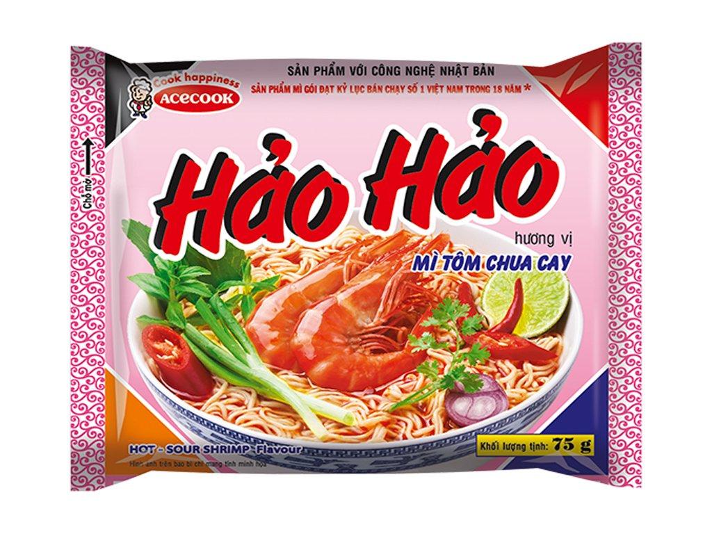 HaoHao nudle krevety 77g