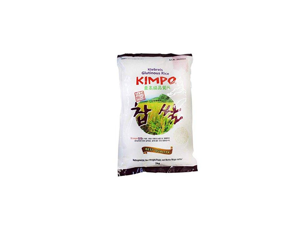 kimpo lepkava ryze 2kg