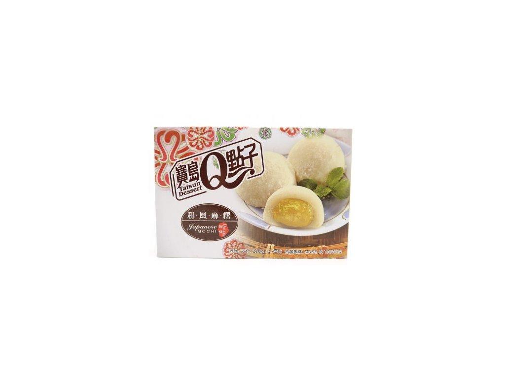 Qmochi ryzove kolacky durian 210g
