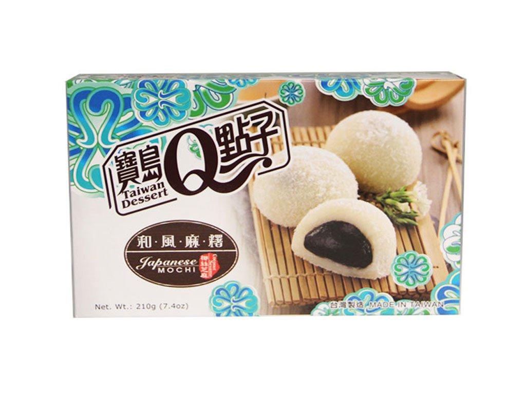 Qmochi ryzove kolacky coconut sezam 210g