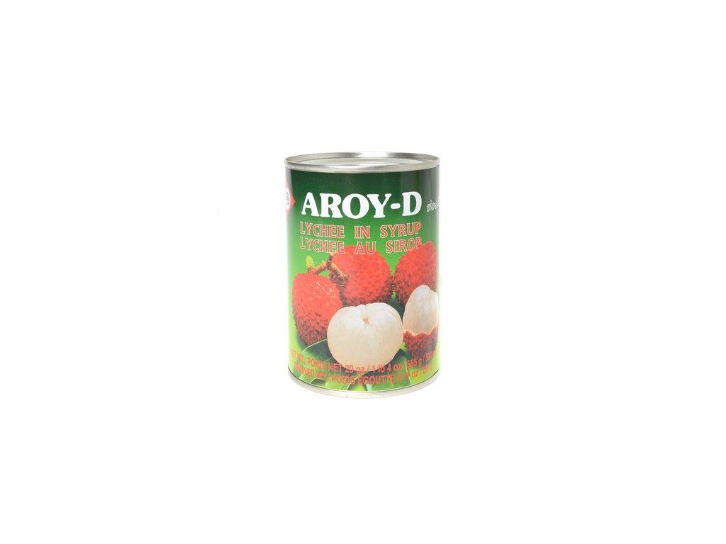 Aroy D kompot lici v sirupu 565g