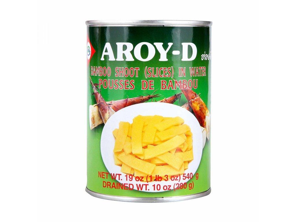 Aroy-D nakládané bambusové plátky 540g