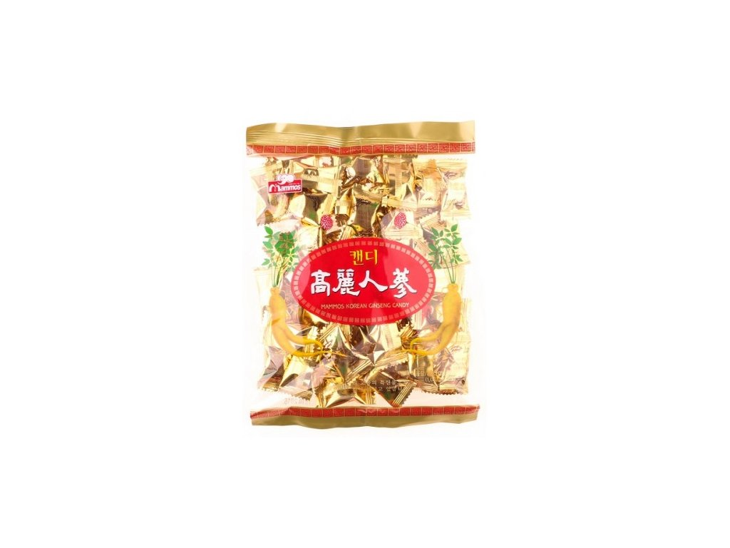 korejske bonbony z cerveneho zensenu 280g