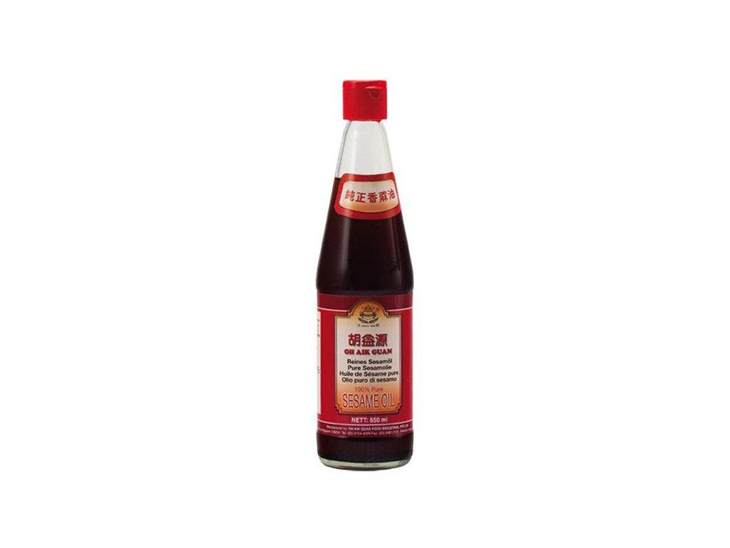 oh aik guan sezamovy olej 650ml