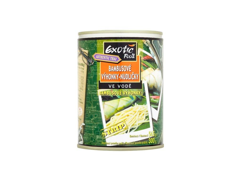 exotic food nakladane bambusove prouzky 565g