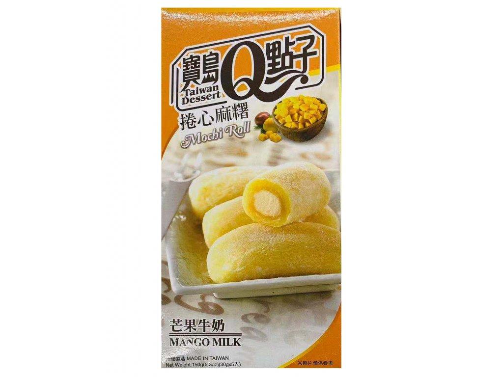 Q mochi rolka s prichuti mango 150g