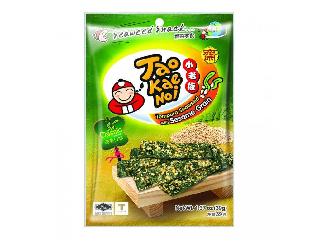 tao kae noi tempura morska rasa snack se sezamem 39g