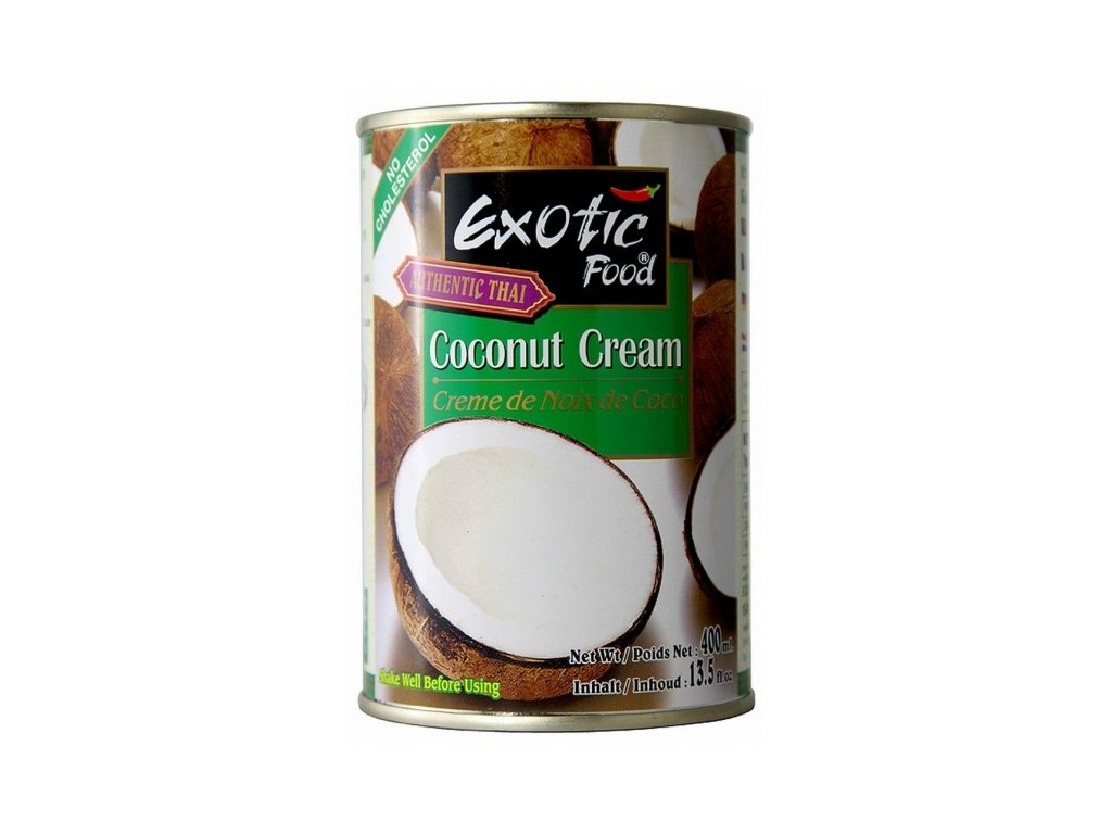 exotic food kokosovy krem 400ml