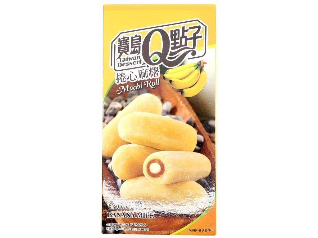 q mochi rolka s bananem 150g