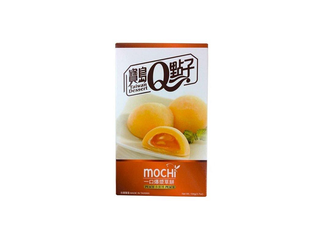 taiwan dessert mochi peach