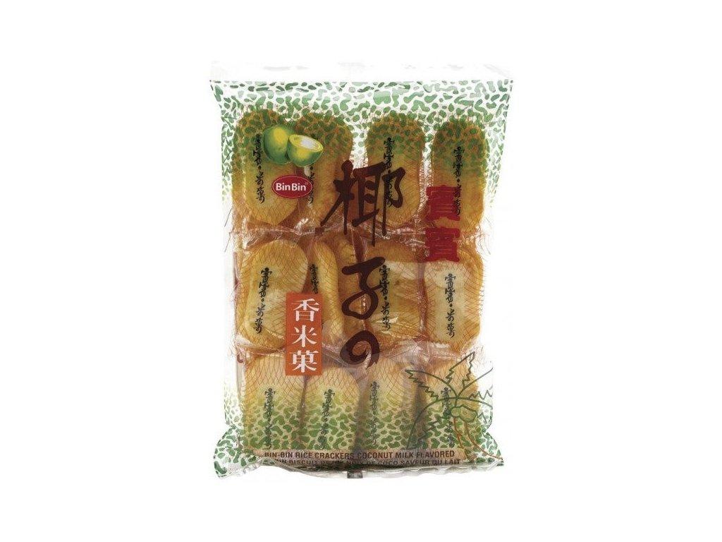 bin bin sladke ryzove krekry kokosove 150g